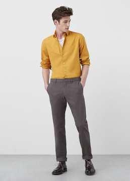 Mango Outlet Slim-fit cotton shirt