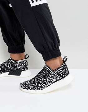 adidas Originals NMD CS2 Primeknit Sneakers In Black BY3012