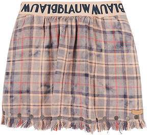 Scotch R'Belle PLAID COTTON FLANNEL SKIRT