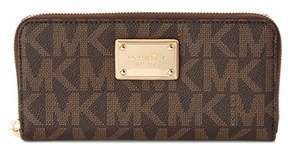 MICHAEL Michael Kors Continental Wallet. - BROWN - STYLE