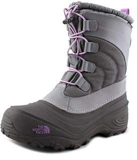 The North Face Alpenglow Iv Round Toe Synthetic Snow Boot.