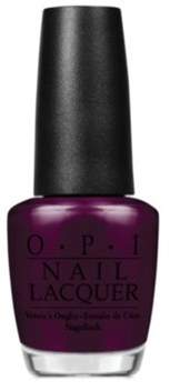 OPI Nail Lacquer Nail Polish, Black Cherry Chutney.