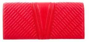 Reece Hudson Quilted Leather Clutch