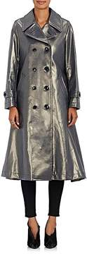 Comme des Garcons Women's Coated Cotton Trench Coat