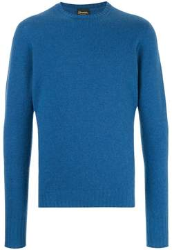 Drumohr slim fit crew neck sweater