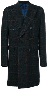 Caruso straight long sleeved coat