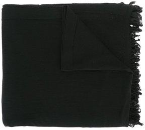 Rick Owens fringed scarf