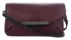 Rag & Bone Grained Leather Mini Flap Bag