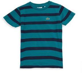 Lacoste Toddler's, Little Boy's & Boy's Stripe Cotton Tee