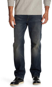 Lucky Brand 361 Straight Leg Faded Jeans