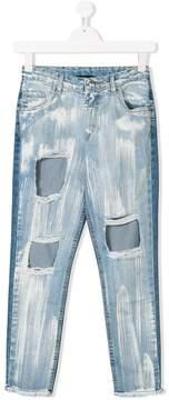 John Richmond Kids TEEN distressed jeans