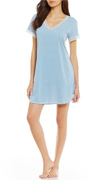 Karen Neuburger Striped Sleepshirt