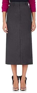 CALVIN KLEIN 205W39NYC Women's Plaid Wool-Silk Midi-Pencil Skirt