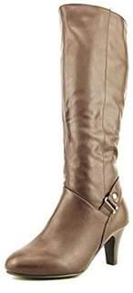 Karen Scott Womens Harloww Almond Toe Knee High Fashion Boots Fashion Boots.