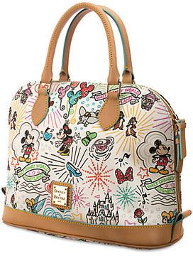 Disney Sketch Zip Satchel by Dooney & Bourke