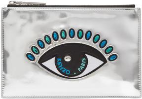 Kenzo Silver Eye A5 Pouch