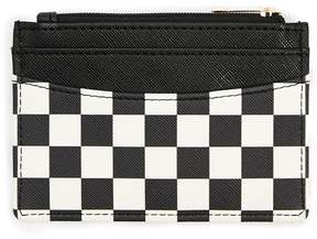 Forever 21 Checkered Print Wallet