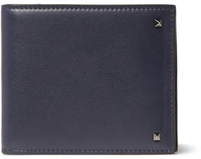 Valentino Rockstud Leather Billfold Wallet