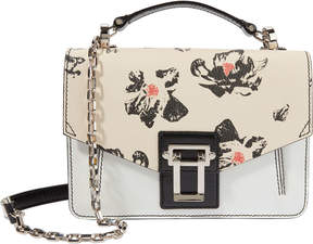 Proenza Schouler Hava Chain Floral Leather Small Shoulder Bag
