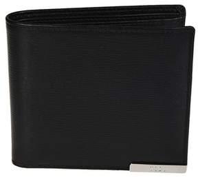 Tod's Men's Black Leather Wallet.