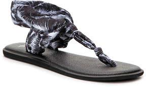 Sanuk Women's Yoga Sling Ella Print Flat Sandal