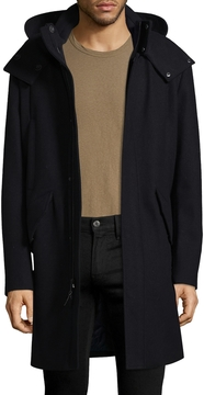 Cole Haan Men's Solid Waterproof Coat