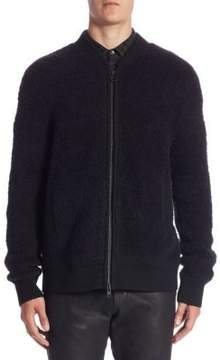 Vince Regular-Fit Teddy Bomber Jacket