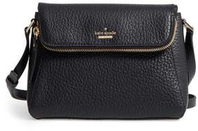 Kate Spade Carter Street - Berrin Leather Crossbody Bag - BLACK - STYLE