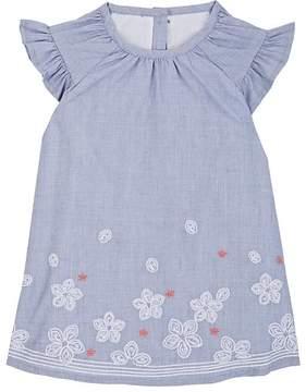 Lili Gaufrette Infants' Embroidered Cotton Dress