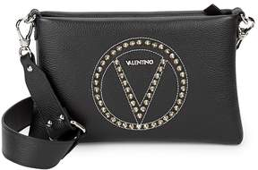 Mario Valentino Valentino by Women's Vanille Rock Studded Leather Shoulder Bag