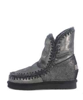 Mou Eskimo Wedge Short Ankle Boots