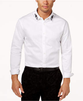 INC International Concepts Men's Embroidered Shirt, Created for Macy's