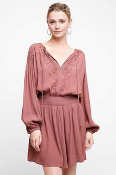 Astr Long Sleeve Melinda Dress