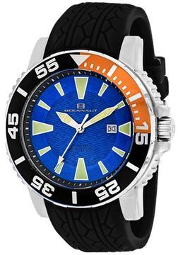 Oceanaut Marletta OC2914 Men's Round Black Silicone Watch