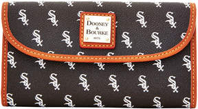 Dooney & Bourke MLB White Sox Continental Clutch - WHITE SOX - STYLE
