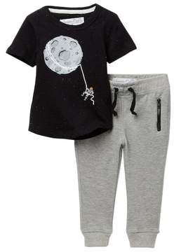 Sovereign Code Tie Up Moon Tee & Pants Set (Baby Boys)