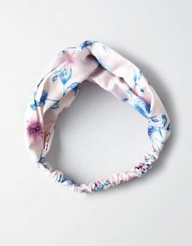 American Eagle Outfitters AE Pink Rose Floral Headband