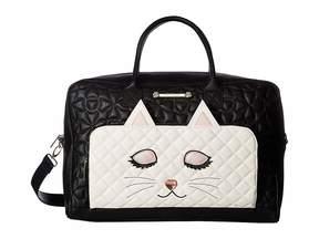 Betsey Johnson Kitsch Weekender Handbags