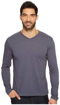 Mod-o-doc Cardiff Long Sleeve Jersey V-Neck Tee Men's T Shirt
