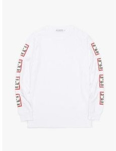 Have A Good Time Arm Frame L/s Tee - White