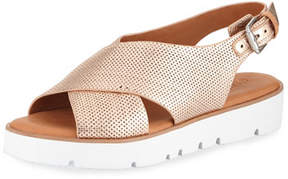 Gentle Souls Kiki Perforated Comfort Sandal