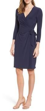 Anne Klein Women's Jersey Faux Wrap Dress