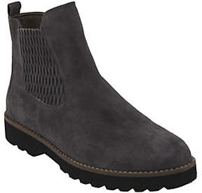 Earth Earthies Leather Ankle Boots - Madrid