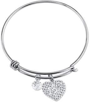 Disney Sterling Silver Let It Go Frozen Expandable Bangle Bracelet