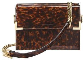 Aspinal of London | Chelsea Bag In In Deep Shine Tortoiseshell Patent | Deep shine tortoiseshell patent