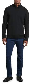 Kenneth Cole New York Reaction Kenneth Cole Half Zip Pouch Pocket Pullover - Men's