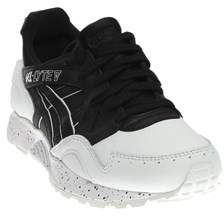Asics Womens Gel-lyte V Leather Low Top Lace Up Running Sneaker.