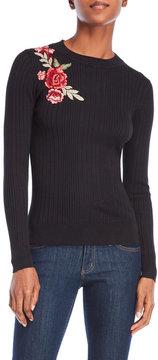 Cliche Floral Embroidered Sweater