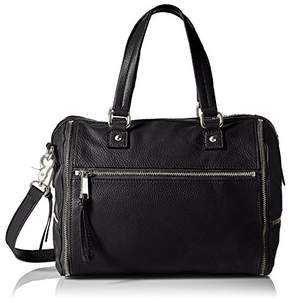 French Connection Women's Kacee Leather Satchel