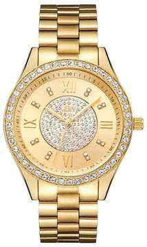 JBW Mondrain 16-Diamond Goldtone Bracelet Watch